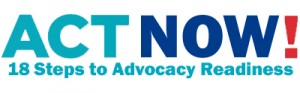 Act Now logo 18 steps