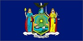 New York state flag NEW