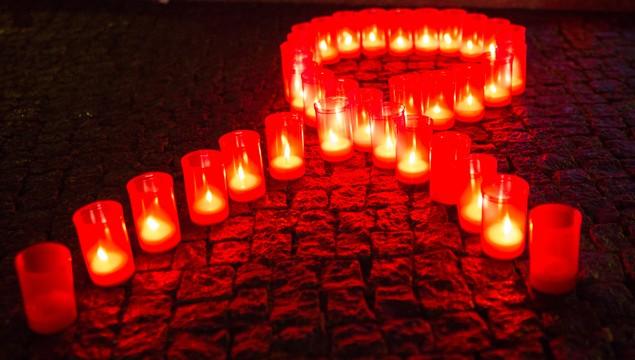 AIDS ribbon Slideshow